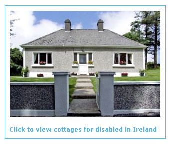 self catering cottages for disabled in Ireland