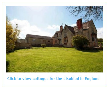 self catering cottages for the disabled in england