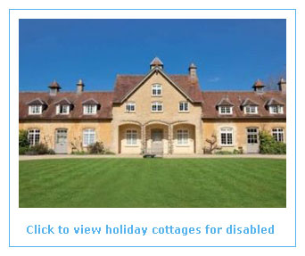 holiday cottages for disabled where assistance is available
